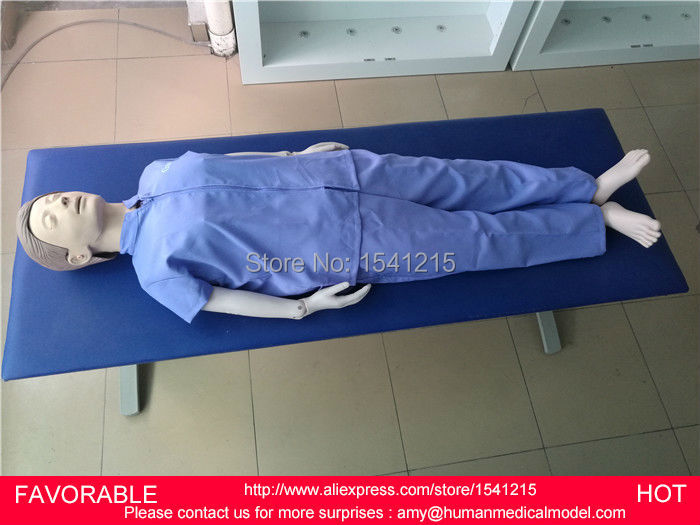 FEMALE/MALE AUTOMATIC FULL-BODY CPR MEDICAL TRAINING MANIKIN CPR TRAINING MANIKIN,CPR MODEL,CPR TRAINING MANIKIN GASEN-CPRM0001 advanced full function nursing training manikin with blood pressure measure bix h2400 wbw025