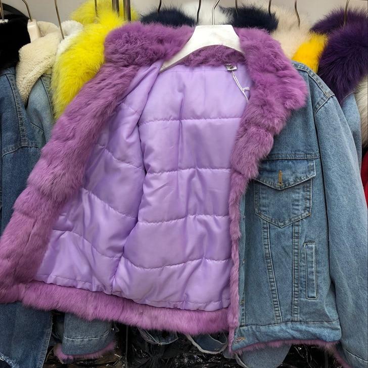 Imbottito W607 Reale Modo Di Nuovo Cappotti white Collo Yellow Cotone Più Outwear Delle Spessore water Pink Caldo Donne Pelliccia 2018 purple Femminile Giubbotti Inverno 6qUTnq8