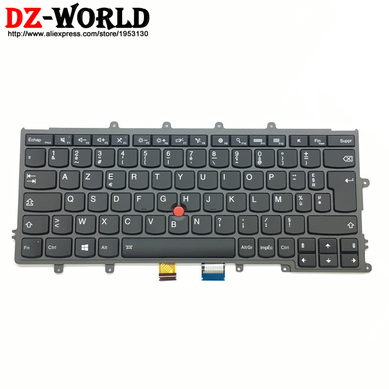 New Original for Thinkpad X230S X240 X240S X250 X260 Backlit French Keyboard France Teclado 01AV511 01AV551 SN20K79614 new notebook laptop keyboard for dell studio 15 1535 1536 1537 0kr770 backlit french layout
