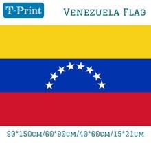 Free shipping 90*150cm 60*90cm 40*60cm 15*21cm VENEZUELA National Flag Polyester 3 x 5 FT