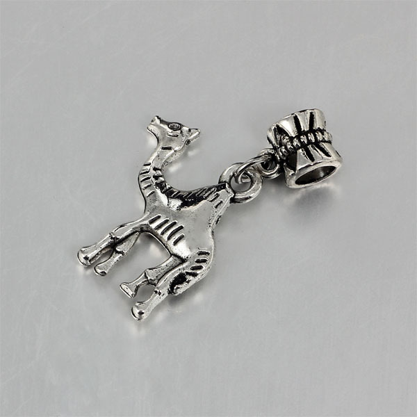 Pandora Jewelry Free Shipping: Free Shipping Silver Color Camel Charms Fits European