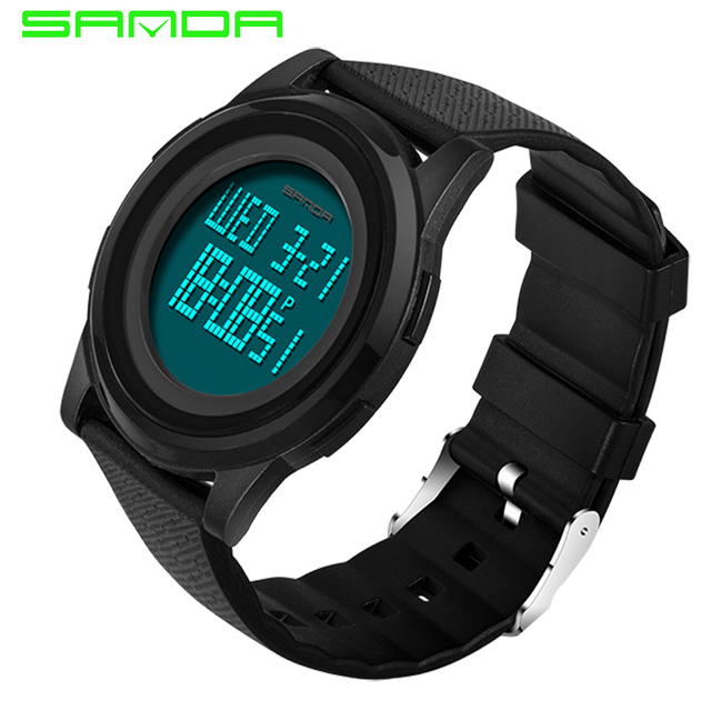6771a65d4e4 9mm Super Slim Sports Watches Men LED Electronic Digital Watch Really 30M  Waterproof Outdoor Casual Male Clock Relogio Masculino