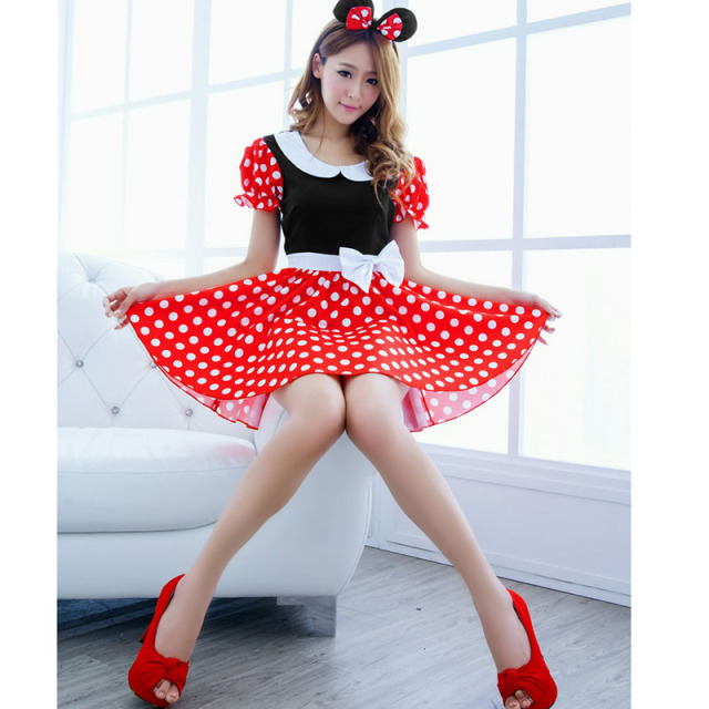 Mini Mouse Cosplay Costume  4