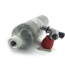 AC3011 Rifle PCP Carbon Firber Cylinder/Tank 1.1L 4500PSI  for Airsoft Muffler with Valve 300bar Air M18*1.5 Acecare