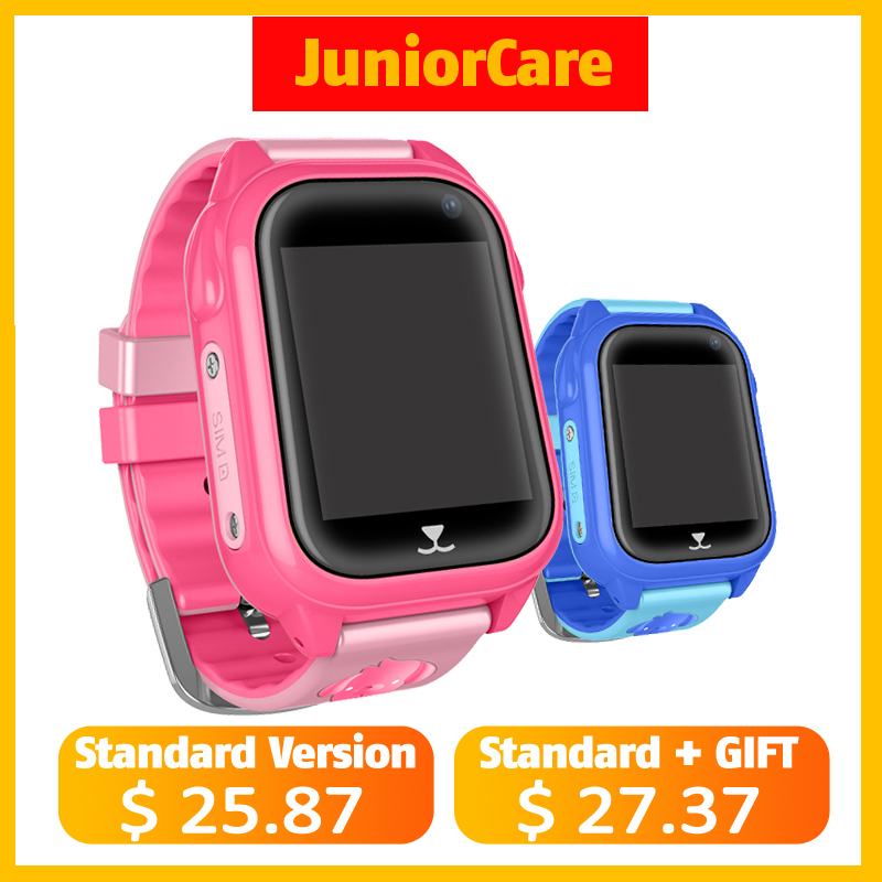 M06 Smart GPS Child Watch Waterproof IP67 Smartwatch GPS phone 1 44 Color Touch Screen SOS