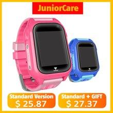 M06 Smart gps ребенок часы Водонепроницаемый IP67 Smartwatch gps телефон 1,44 «Цвет Сенсорный экран SOS умный ребенок gps часы VS Q90 Q360