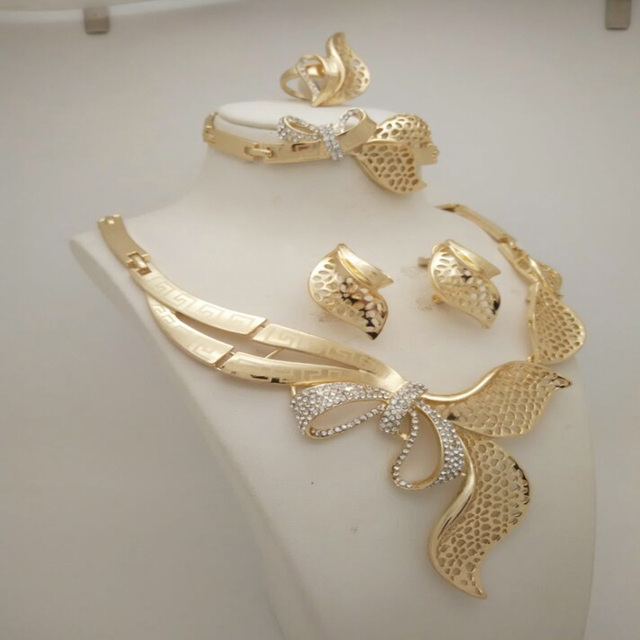 Sandy-Gold-Plated-Jewelry-Sets
