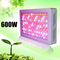 600W IP54 LED Grow Light Full Spectrum for Indoor Greenhouse Growing Tent Plants Grow LED Light Flower Lamp