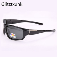 Glitztxunk Square Sunglasses Men Polarized 2018 Retro Sport Sun Glasses for Black Driving Male Eyewear Oculos Gafas De Sol
