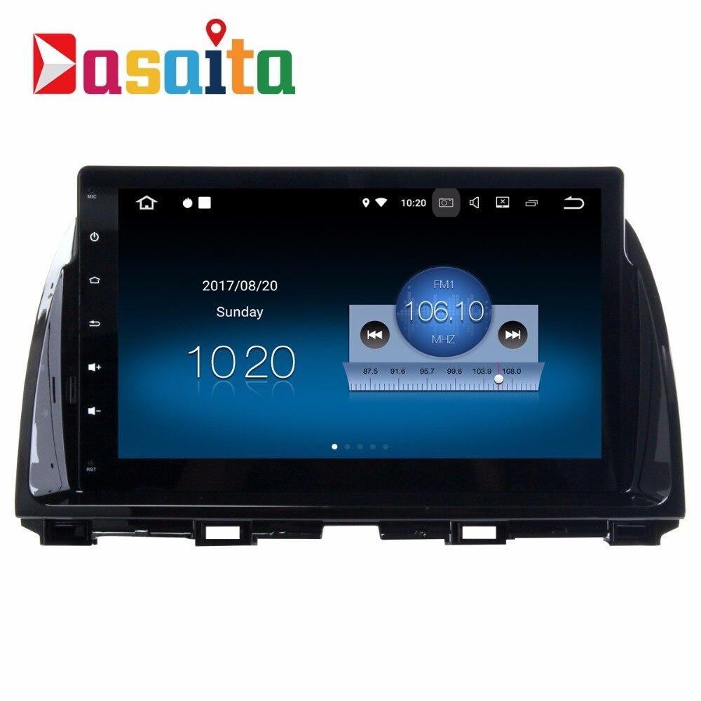 Dasaita 10.2 Android 7.1 Car GPS Player Navi for Mazda CX5 CX 5 2013 2014 2015 with 2G+16G Quad Core Stereo Radio Multimedia 4G