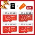 サムスンマイクロ SD オリジナル 100 メガバイト/秒 512 ギガバイト 256 グラム 128 ギガバイト 64 ギガバイト 32 ギガバイトメモリカード USH- 3/USH-1 SDXC グレード EVO プラスマイクロ TF SD カード
