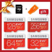 SAMSUNG Micro SD Original 100 MB/S 512GB 256G 128GB 64GB tarjeta de memoria de 32GB USH- 3/USH-1 SDXC grado EVO Plus Micro TF tarjetas SD