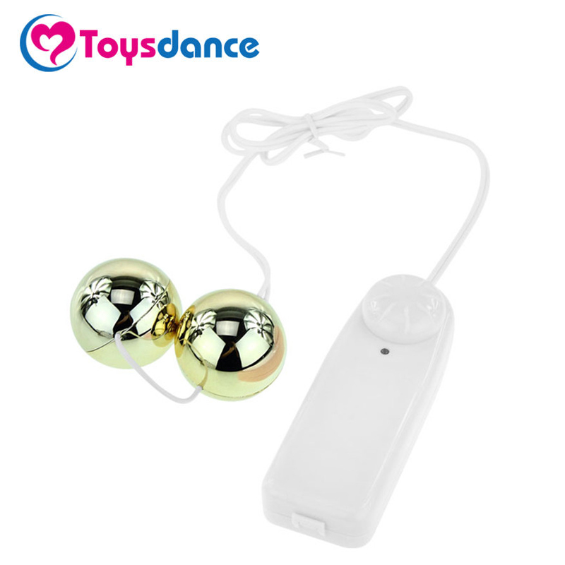 Toysdance Sex Products For Woman Clitoral/Anal/Vaginal Vibrator Dual Vibrating Balls Double Motors Adult Sex Toys Body Massager