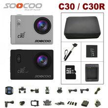 SOOCOO C30/C30R Sport Kamera 4 Karat Gyro Wifi Einstellbaren betrachtungswinkel 170 Grad NTK96660 30 Mt Wasserdichte Kamera 2,0 LCD