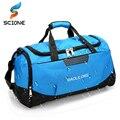 Professional Waterproof Large Sports Gym Bag With Shoes Pocket Men/Women Outdoor Fitness Training Duffle Bag Travel Yoga Handbag