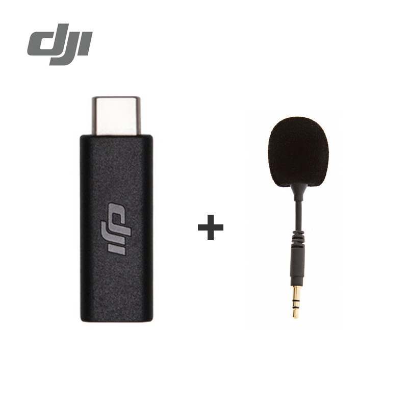 DJI Osmo Pocket 3.5mm Adapter Supports External 3.5mm Microphone Fit Osmo Pocket In Stock Original