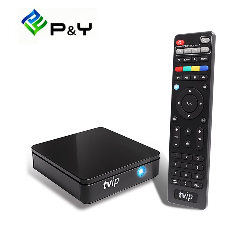 Android TV Box TVIP S805 Amlogic Quad Core 410 412 With Linux Dual wifi 1G8G media player Android KK 4.4 Set top box k1 dvb s2 android 4 4 2 amlogic s805 quad core tv box