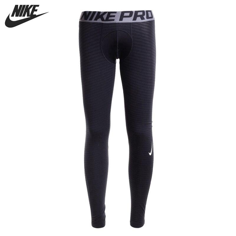 ФОТО Original New Arrival  NIKE PRO WARM  Men's Pants Sportswear
