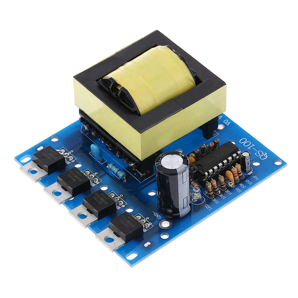 US $13 15 48% OFF|DC AC Converter Inverter Board DC12V to 220V 380V 18V AC  500W Inverter Board Transformer Power-in Instrument Parts & Accessories