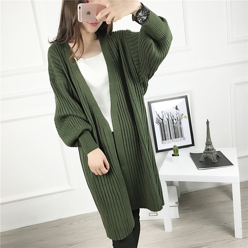 Long Cardigan Women 2016 Korean Autumn Fashion Oversized Sweaters ...