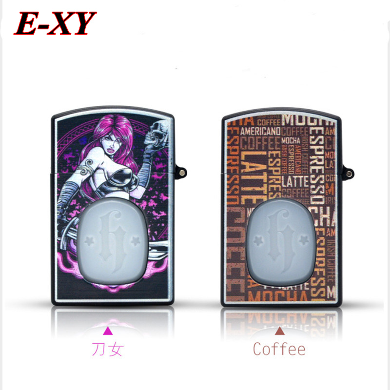 E-XY 30ml Cigarette Lighter Style Oil Dropper Bottle Empty E Liquid Dropper Bottle ABS & PE Plastic Needle Bottle for vape 1pcs fast food and fast media