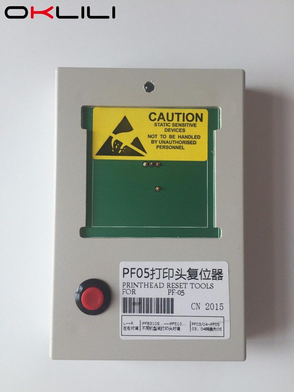 PF 05 Reset PrintHead Print Head Printer Head Chip Resetter Decoder for Canon iPF6300 6350 6400
