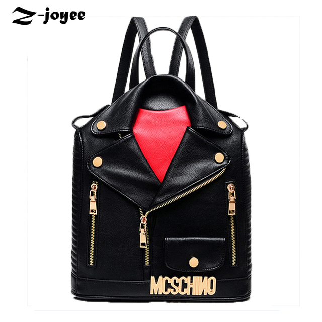 2017 Fashionable School Bags for Teenage Girls Black Leather ...