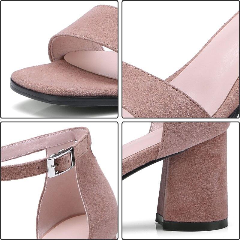 Fanyuan Sexy Plataforma Suede Black Alto Kid Boda pink Tobillo Talones Zapatos Sandalias Correa Feminina Super yellow Sandalia Mujeres De Mujer rrdq4Fw