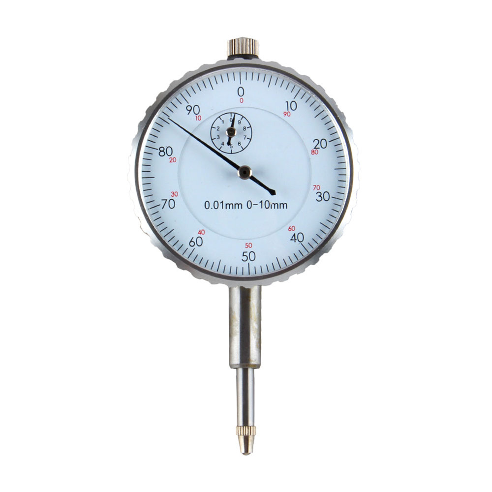 New 0.01mm Accuracy Measurement Instrument Precision Tool Dial Test Indicator Gauge Round Dial Indicator Gauge Vertical Contact