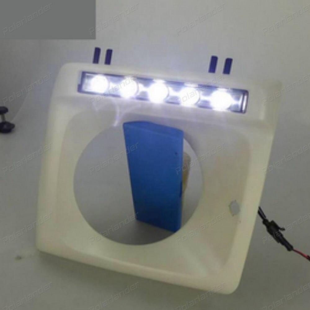 1 pair Fog Lamp daytime running lights Car styling For M/recedes-B/enz W463 G500 G55 1993 -2015 led Driving