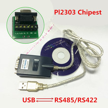 USB 2.0 to RS422 RS485 Converter Adapter serial cable with CD Driver rs422 rs485 to tcp ip ethernet serial device server 10 100mb adapter converter