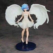 Anime Re: la vida en un mundo diferente a la figura cero juguetes Ángel rem PVC modelo de figuras de acción juguete para regalo