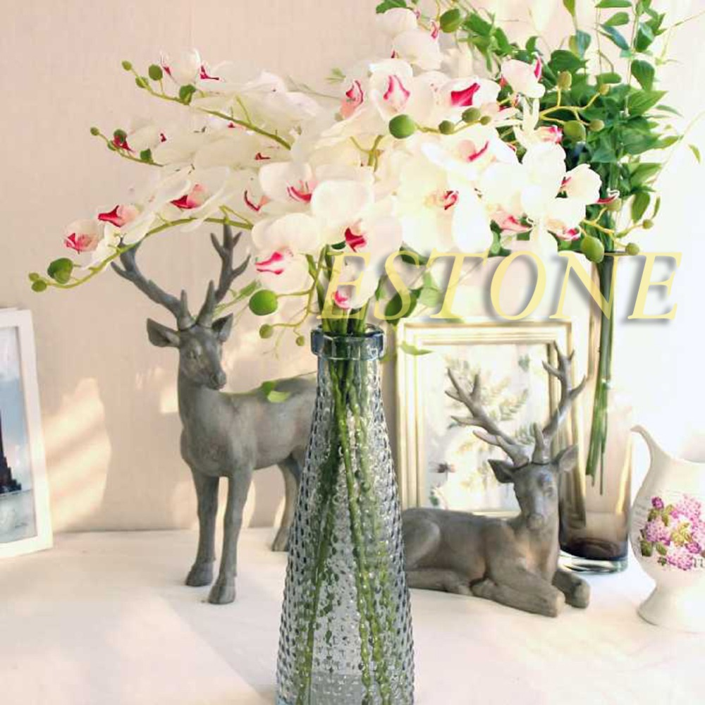Zijde bloemen orchidee koop goedkope zijde bloemen orchidee loten ...
