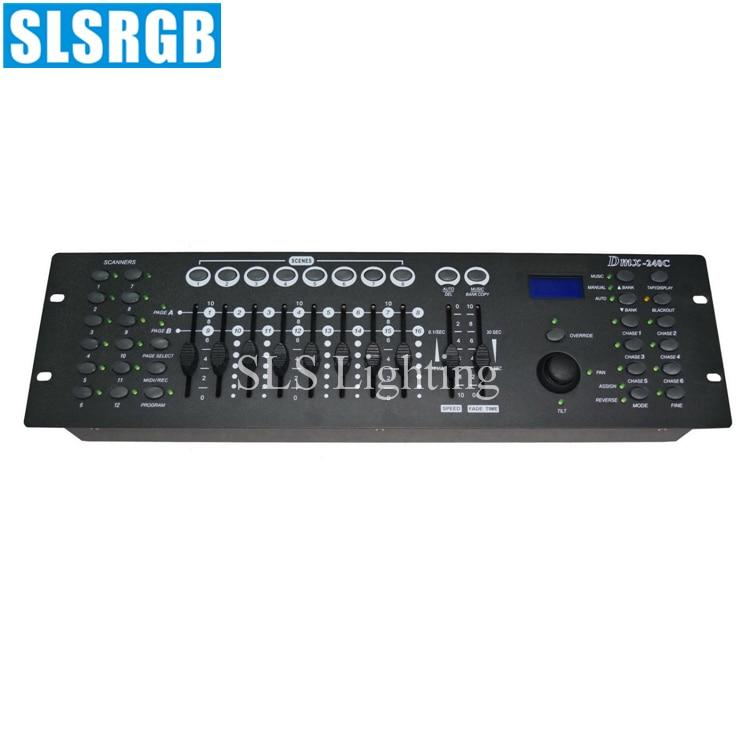 SLS-1329 DMX-240C console DMX lighting console/240 console/led dmx controller 240C rgbw dmx controller led stage light console ...