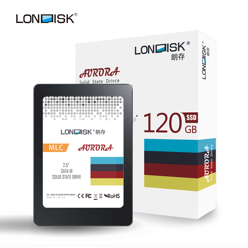 Londisk SSD 120gb Hard Drive SATA3 2.5 inch Internal Style For Laptop Notebook