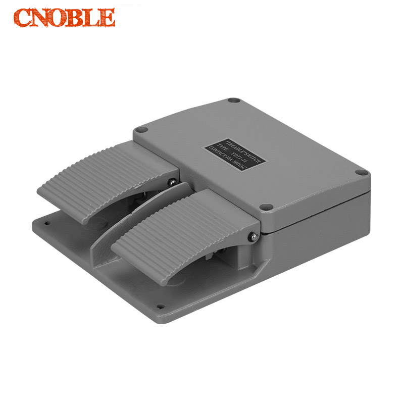 YDT1-16 Foot Switch Pedal Foot Control Switch 380V 5A double pedal use for bending machine punch hot sale lt4 202h factory price cheap ce newest latest metal double pedal foot switch for bending machine punch