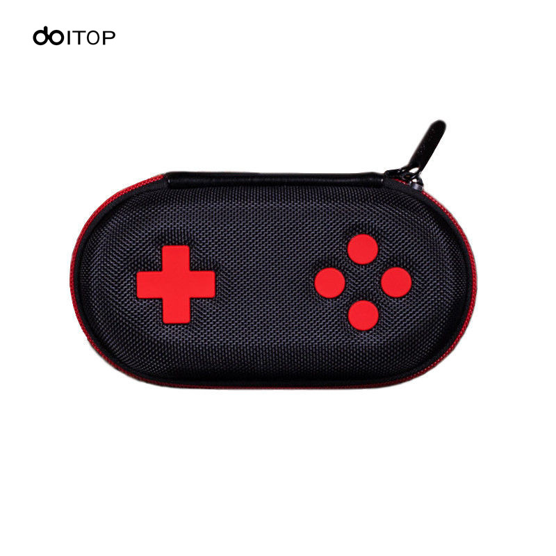 DOITOP Storage Bag Anti-scratch EVA Case For 8Bitdo Classic Controller Storage Box Protable Travel Carry Bag Pouch For Gamepad