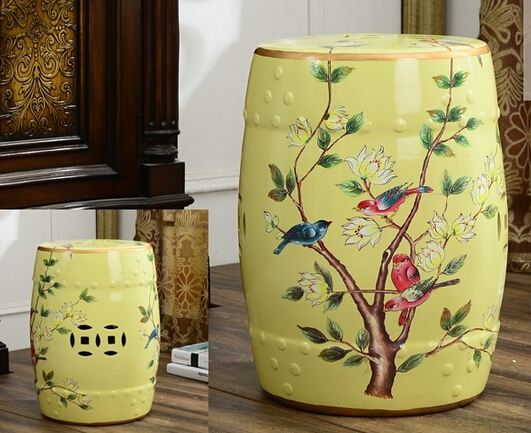 chinese furniture ceramic garden stool seats