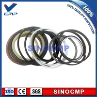2 sets R305LC-7 R305-7 Boom Cylinder Repair Seal Kit 31Y1-15390 For Hyundai Excavator Service Kits   3 months warranty
