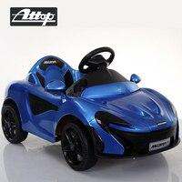Езды на автомобиле детей Электрический музыка светодиодный свет P1 супер автомобиль дистанционного Управление зарядки четыре колеса для ма