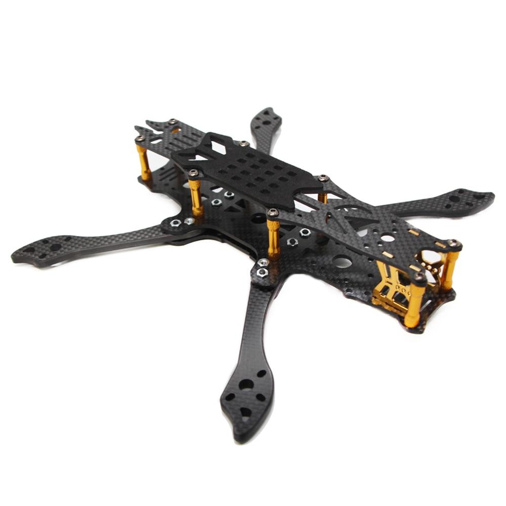 FLYWOO 5.8G FPV Mr. Croc 225mm 5 pouces FPV FreeStyle cadre de course Kit 5mm bras pour Drone de course RC-in Pièces et accessoires from Jeux et loisirs    1