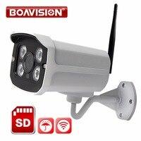 HD 720P WIFI Wireless IP Camera 960P 1080P Outdoor TF Card Slot Surveillance Waterproof P2P View