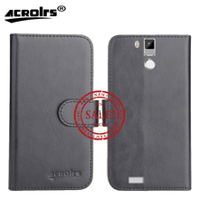 Hot!! In Stock OUKITEL K6000 Pro Case 5.5 6 Colors Ultra-thin Dedicated Leather Exclusive For Wiko Tommy Phone Cover+Tracking
