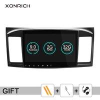 Xonбогатый автомобильный dvd плеер 2 Din для Mitsubishi Lancer X 9 Android 9,0 2008 2015 10,1 дюймов 3g/4G аудио; стерео; GPS радио видео WiFi