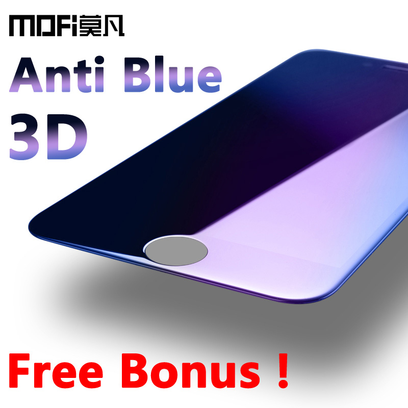 mofi for iphone 6s glass tempered iphone 6 plus screen protector ultra thin full cover 3D curve protection glass film plus 5.7