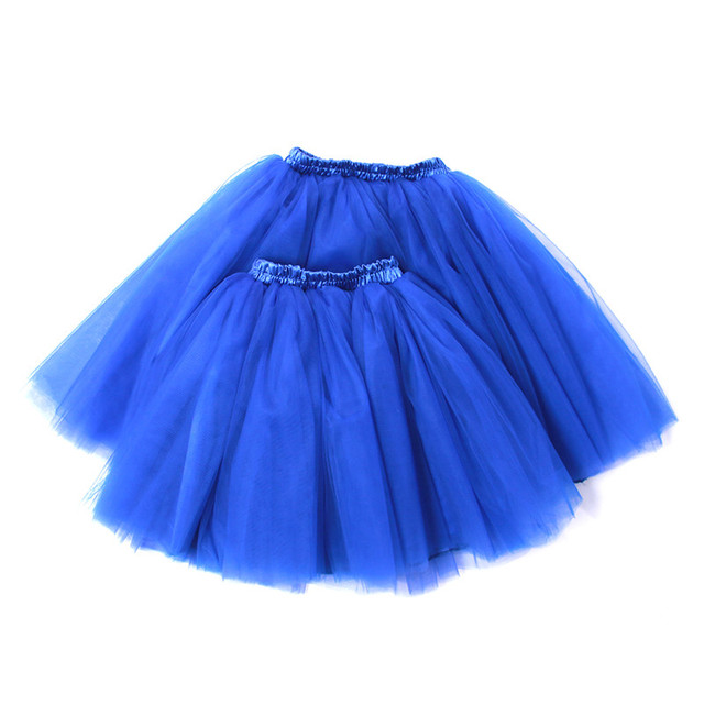 Mommy & Me Outfit Set of  Very Full Puffy Tulle Skirt for Women & Kids Matching Tutu Flower Girl Toddler Tutu Adult Tutu Party