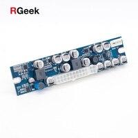 12V DC Input 300W Output Mini ITX Pico PSU DC ATX PC Switch Realan DC Power