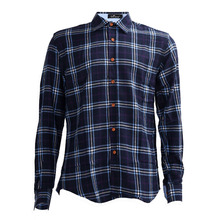 2017 NEW New Men's Slim Fit Long-Sleeve Plaid Shirt Casual Shirts Male Cotton Dress Shirts Tuxedo Shirts 05