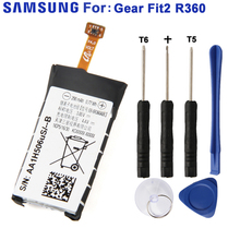 Samsung Original EB-BR360ABE Battery For Gear Fit2 Fit 2 R360 SM-R360 Genuine Replacement 200mAh