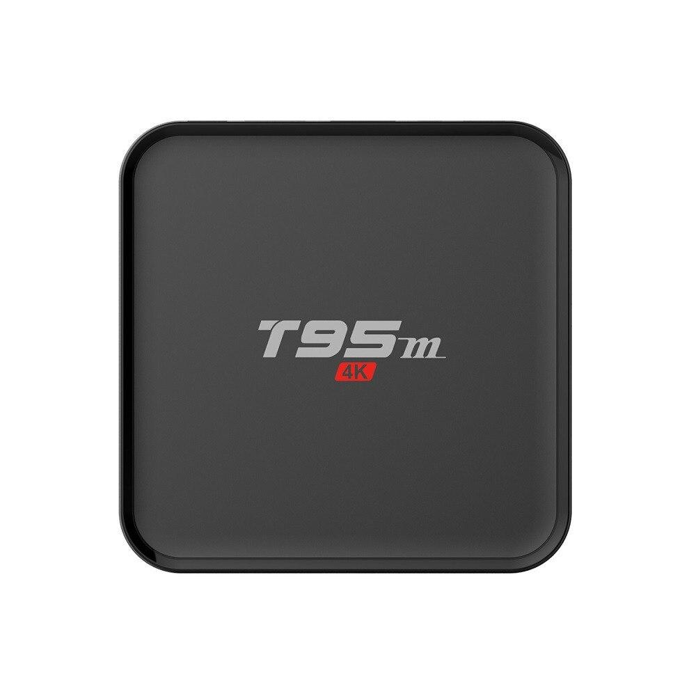 T95M TV Box S905X Android Set Top Box 1G/8G TV BOX Wifi dolamee d6 s905x 1g 8g kodi 4k tv box rii i8 black